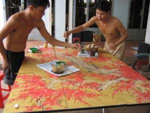 Artisans fabrication tableau