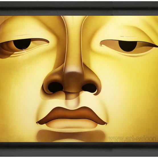tableau en bois laque artisanat vietnam art-saigon bouddha
