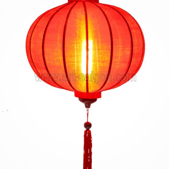 lampion lanterne rouge soie bambou hoi an vietnam asiatique art-saigon