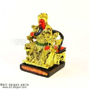 guerrier dieu guerre decoration feng shui asiatique art-saigon