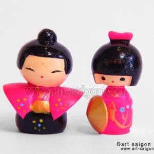 kokeshi poupée japonaise japon art-saigon