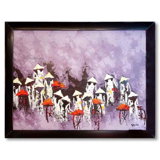 art saigon peinture huile toile vietnam